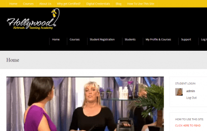 Updated Website Design