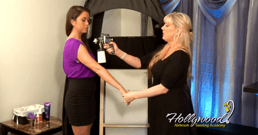 Hollywood Airbrush Tanning Salon Technician Course